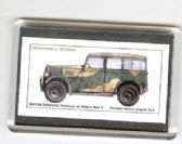 HUMBER HEAVY UTILITY CAR FRIDGE MAGNET